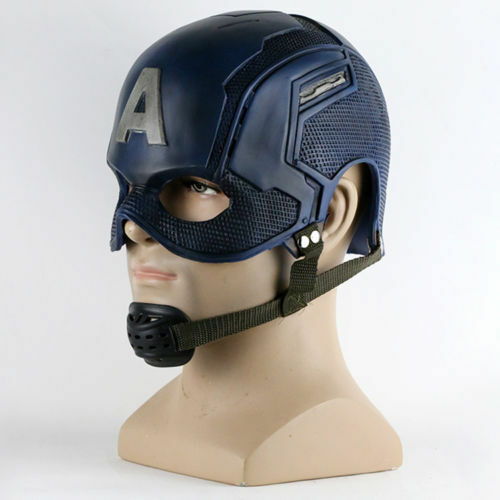 Captain America Helmet Avengers Ultron Steve Rogers Helmet Cosplay Mask Prop