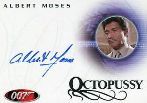 James-Bond-in-Motion-2008-Albert-Moses-as-Sadruddin-Autograph-Card-A82