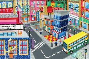 Original-LEGO-Art-City-Modular-Buildings-Series-11-034-x17-034-Poster