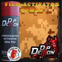 Marine Digital Camo Desert Military Hydrographic Film Activator Hydro Dipping