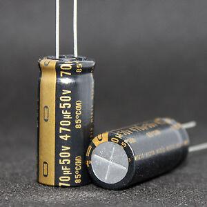 2PCS NICHICON 470uF//25V MUSE BP Non-Polarized Audio Electrolytic Capacitor