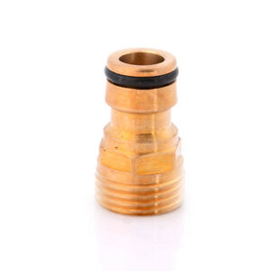 1-2-034-Threaded-Brass-Tap-Adaptor-Garden-Water-Hose-Quick-Pipe-Connector-HU