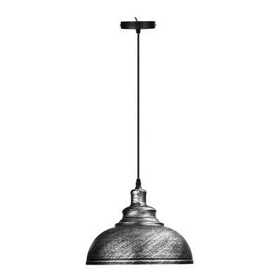 Iron Vintage Retro Ceiling Light Pendant Lamp Shade Industrial Loft Chandelier