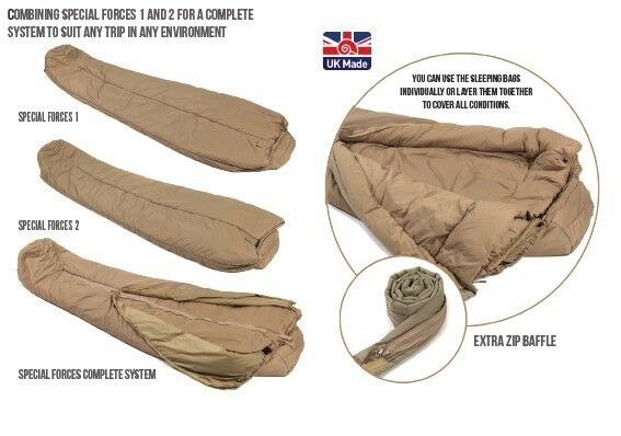 Snugpak Special Forces Complete System Sleeping Bag Extreme Conditions   -20°c