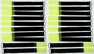 Musical Instruments & Gear 20x Kabelklett Klettband 160 X 16 Mm Neon Gelb Öse Klett Kabelbinder Klettbänder Elegant In Smell
