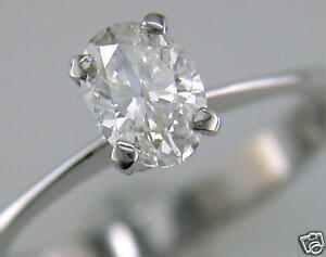 Diamond-Solitaire-Ring-Oval-Shape-1ct-Certificated-D-IF-VG-Platinum-Engagement
