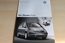 132603) VW Sharan Goal - Preise & Extras - Prospekt 12/2003