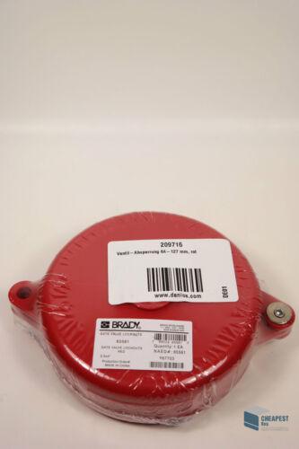 64-127 mm Valve Lockout Handräder R.S Hughes Brady 65561 Ventil-Absperrung f