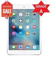 Apple iPad mini 2 128GB, Wi-Fi + 4G AT&T (Unlocked) 7.9in - Silver - Grade A (R)