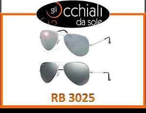 Ray-Ban-3025-Aviator-Large-Metal-Rayban-Specchiati-Grigio