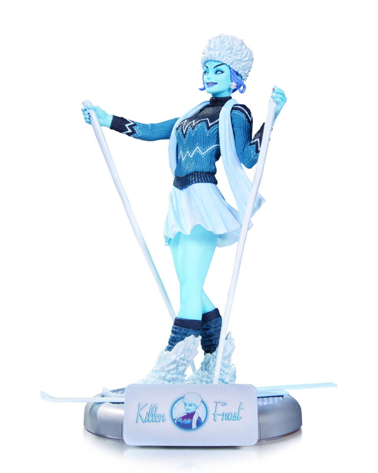 DC las explosivas Killer Frost estatua nuevo en Caja Como Nuevo