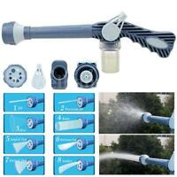 Multi Function Ez Jet Water Soap Cannon Dispenser Pump 8 Nozzle Spray Gun Washer