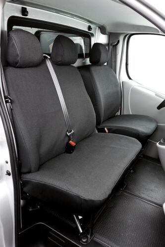 heute 06//01 Schonbezug Sitzbezug Sitzbezüge für Nissan Primastar Bj