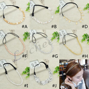 Punk-Style-Head-Chain-Jewellery-Headband-Hair-Band-Accessories-Fashion-Girl-Xmas