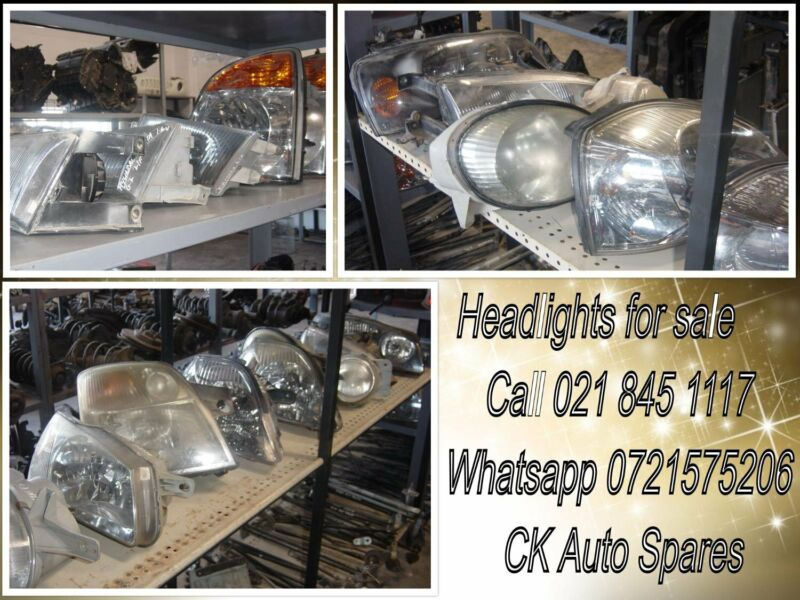 Headlights for most vehicles make and models for sale