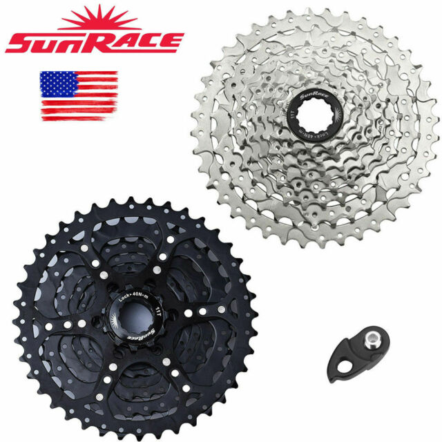 SUNRACE  8//9 Speed ​​Cassette 11-40T Wide Ratio Freewheel MTB Bicycle Sprocket