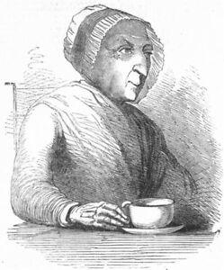 Cowes. Royal Centenarian, Mrs Read, West , Antique Print, C1850