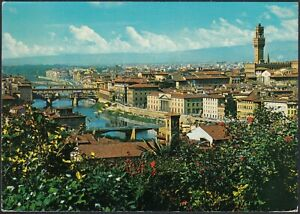 AB3140 Firenze - Panorama - Cartolina postale - Vintage postcard