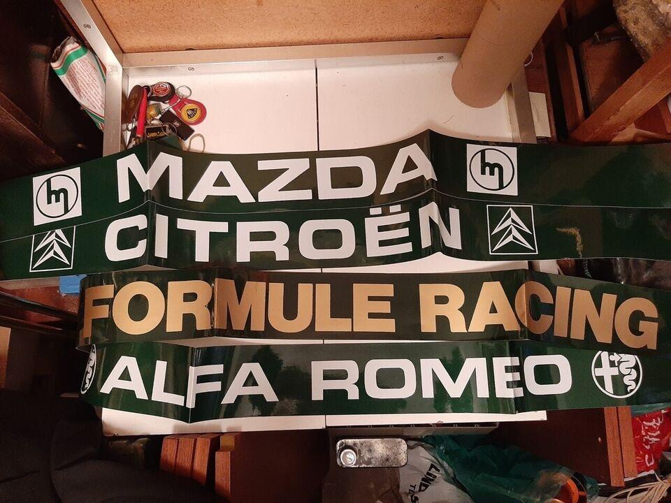Streamer til forrude, VW, Alfa Romeo