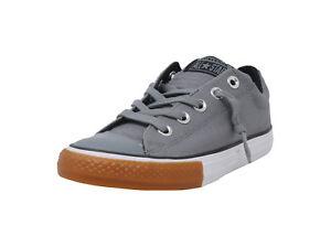 fb1695bcda8f Converse Chuck Taylor All Star Shoes Street Slip Junior Boys Girls ...
