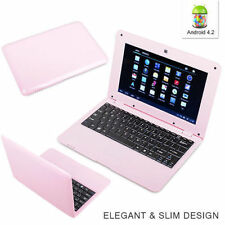 10 inch NETBOOK MINI LAPTOP WIFI ANDROID 4.4 VIA WM8880 1.5GHz NOTEBOOK 4G Pink