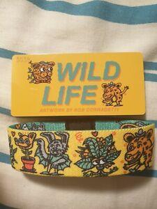ZOX-STRAP-WRISTBAND-STRAPS-WILD-LIFE-UNWORN-SECRET-STASH-DROP
