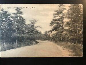 Vintage-Postcard-gt-1907-1915-gt-Scene-Around-Brown-Mills-gt-New-Jersey