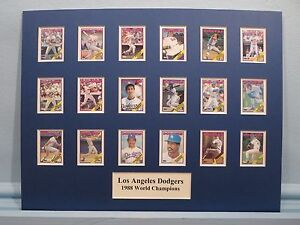 Los-Angeles-Dodgers-managed-by-Tom-LaSorda-1988-World-Series-Champions