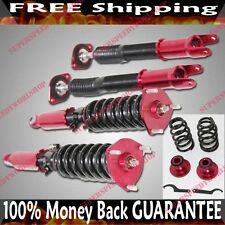 Coilover Suspension NON Adj.Dampering RED fit 08-11 Infiniti G37 Coupe/Sedan RWD