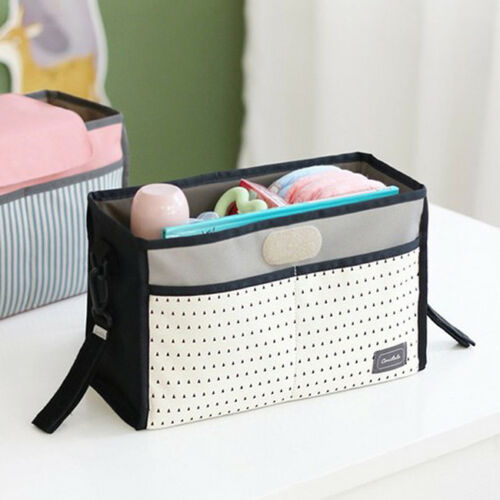 Bedside Pockets Gadget Storage Holder Book Bed Organizer Couch Hanging Bag HD