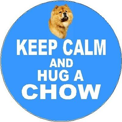 "Eurasier Dog Fridge Magnet /""KEEP CALM AND HUG A EURASIER by Starprint"