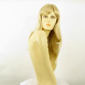 Perruque-femme-mi-longue-blond-dore-meche-blond-tres-clair-BETTY-24BT613
