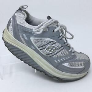Skechers 11814 Shape Ups Toning Walking Athletic Fitness White Women's US 10