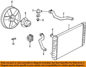 GM Oemradiator Cooling Fan Motor 22137318 Ebay. Is Loading GMoemradiatorcoolingfanmotor22137318. Wiring. 1989 Reatta 3800 Engine Diagram At Scoala.co
