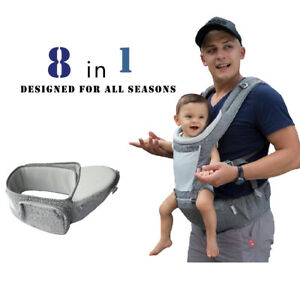 7760f7c904c Image is loading DaDa-hip-seat-baby-carrier-baby-shower-gift-