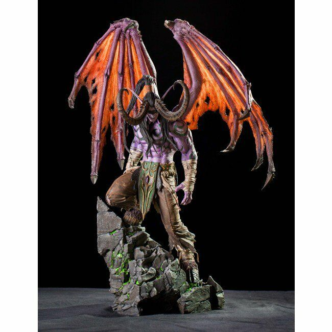 Illidan Blizzard Statue - Blizzcon Exclusive