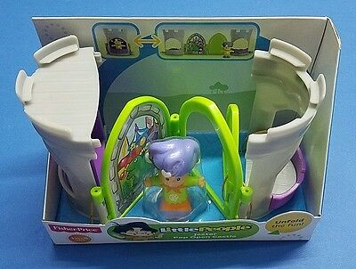 LOT OF 1x /& 2x Fisher Price Little People Pop Open Castle Queen Jester Connect