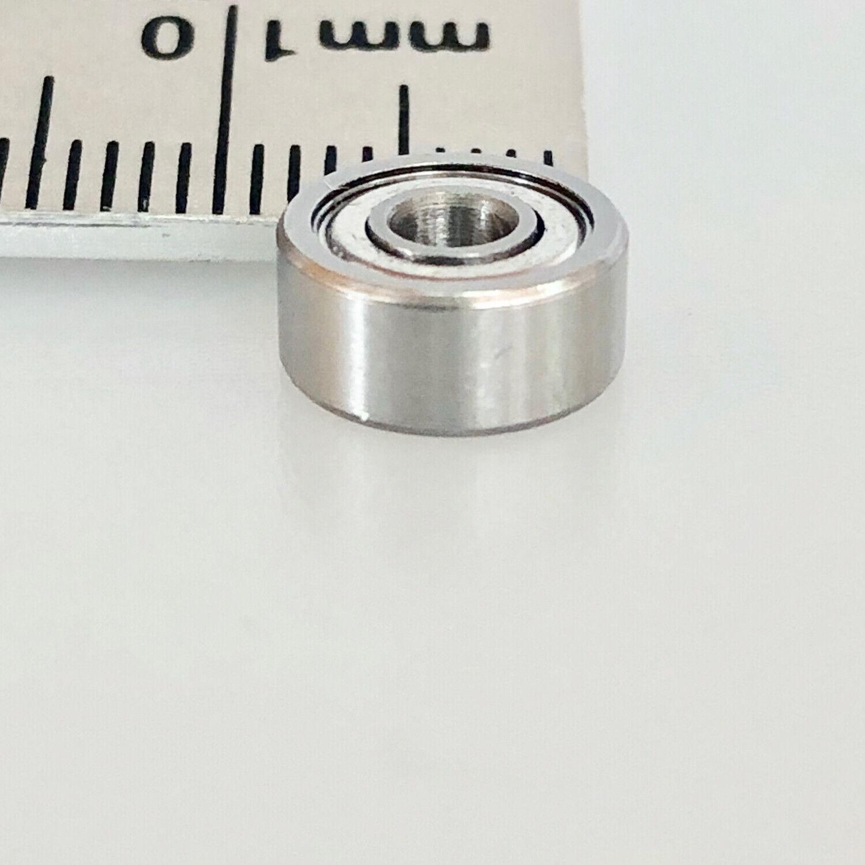 Radial Acero Cromado Miniatura Rodamiento de Bolas 3X 9X 4mm Cerrado Partcore