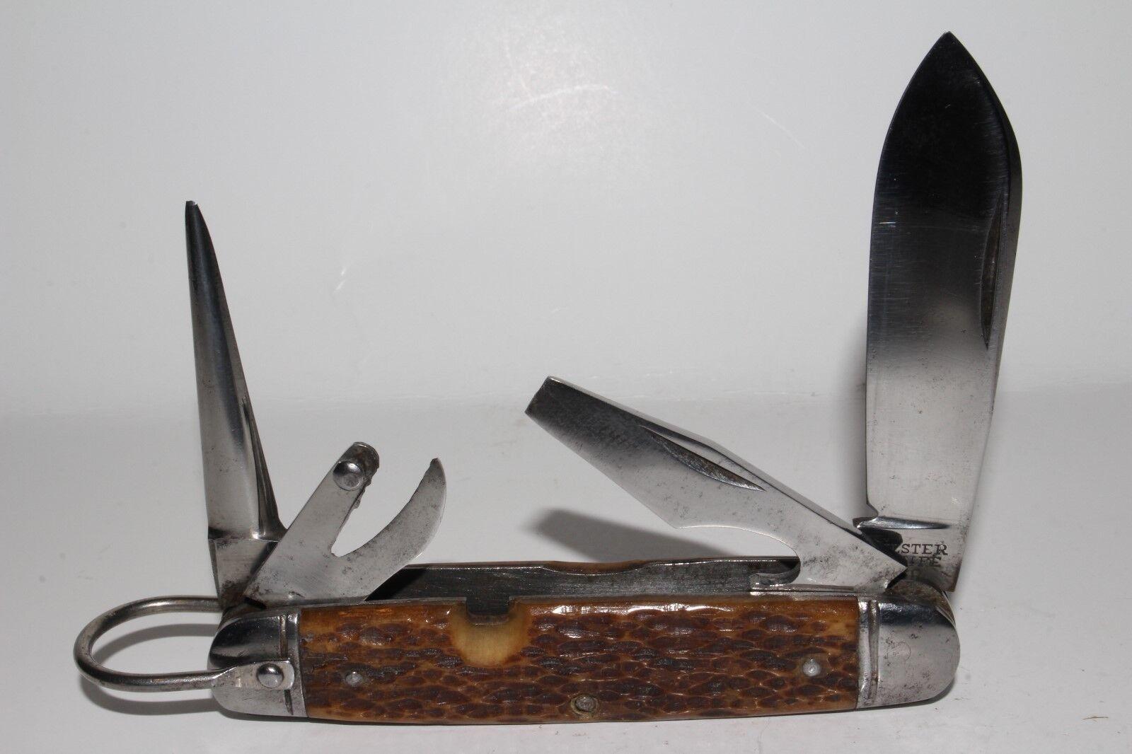 Vintage Ulster Knife Co Camp Knife, Nice Original