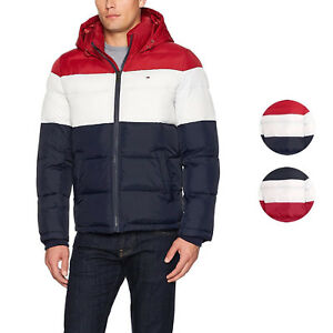 Tommy Hilfiger Men's Ultra Loft Insulated Classic Hooded Puffer Jacket Coat