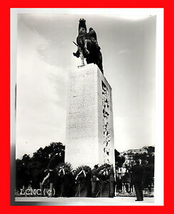 FOTOGRAFIA PHOTO B/N BLACK AND WHITE VINTAGE ANNI '70 NAPOLI VIA CARACCIOLO MONU