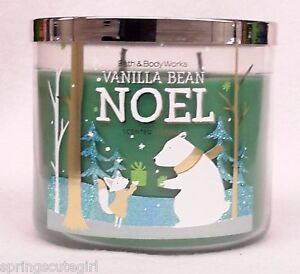Bath-amp-Body-Works-VANILLA-BEAN-NOEL-3-Wick-14-5-oz-Scented-Candle