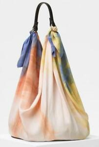 bb5afec950cf CELINE Tie Dye Scarf Bag Silk Purse Resort 2018 Phoebe Philo RARE ...