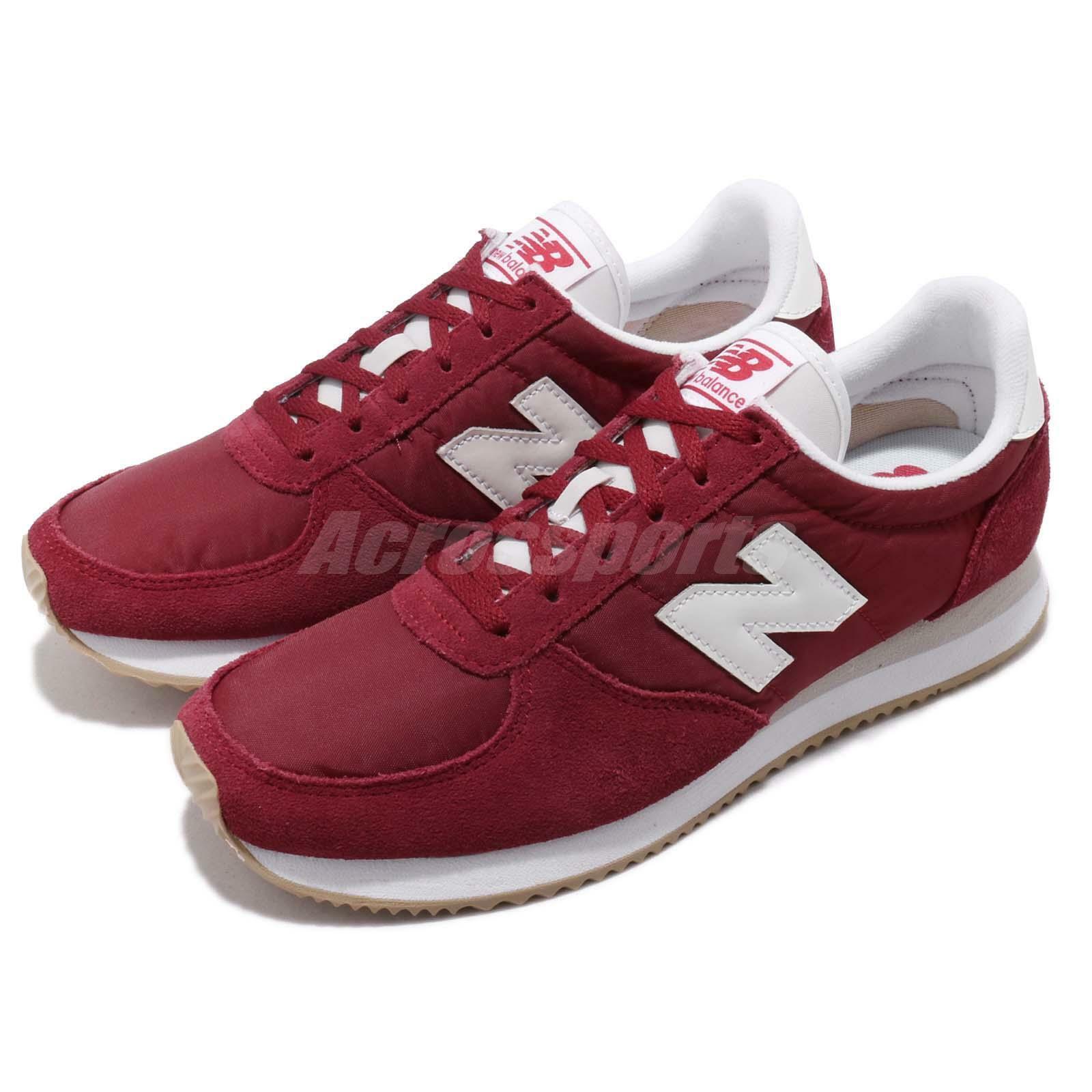 New Balance WL220CRA B Red White Gum Women Running shoes Sneakers WL220CRAB