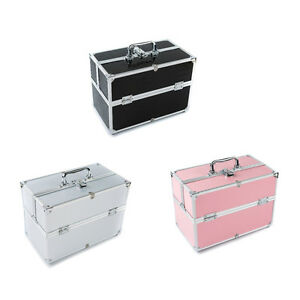 extra large storage beauty box makeup jewellery cosmetic. Black Bedroom Furniture Sets. Home Design Ideas