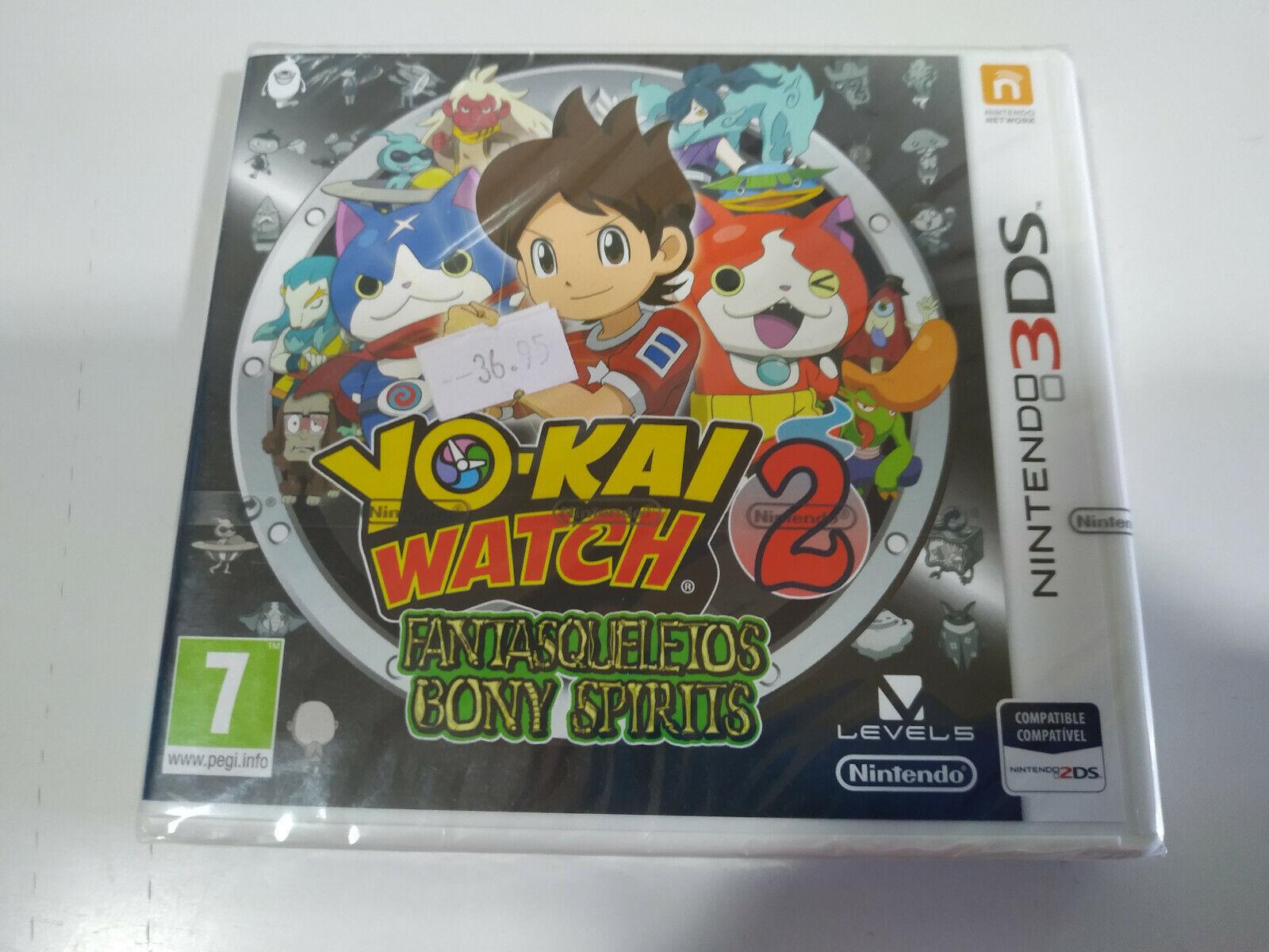 Yo-Kai Watch 2 Fantasqueletos Bony Spirits - Juego Nintendo 3DS Edicion España