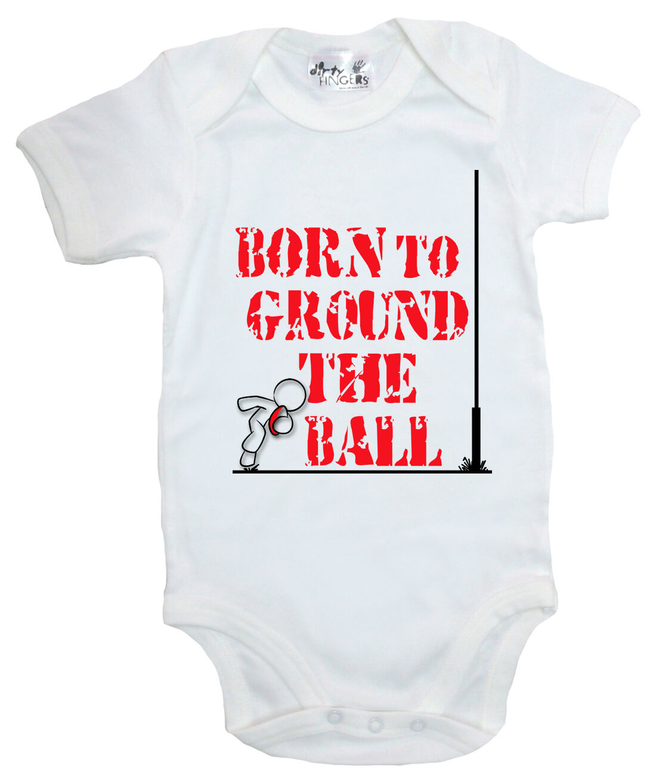 "Dirty Fingers /""Born to Score for Wales/"" Baby Subli Bodysuit Football Fan Gift"