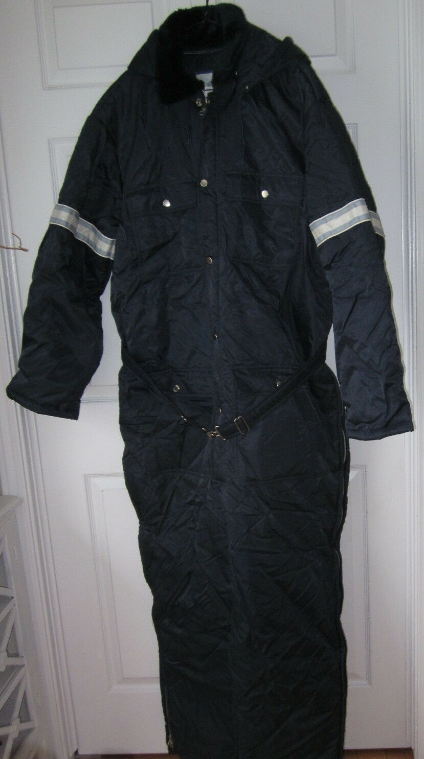 Vintage Fieldmaster Navy bluee 1pc Snowmobile Suit RARE XXL