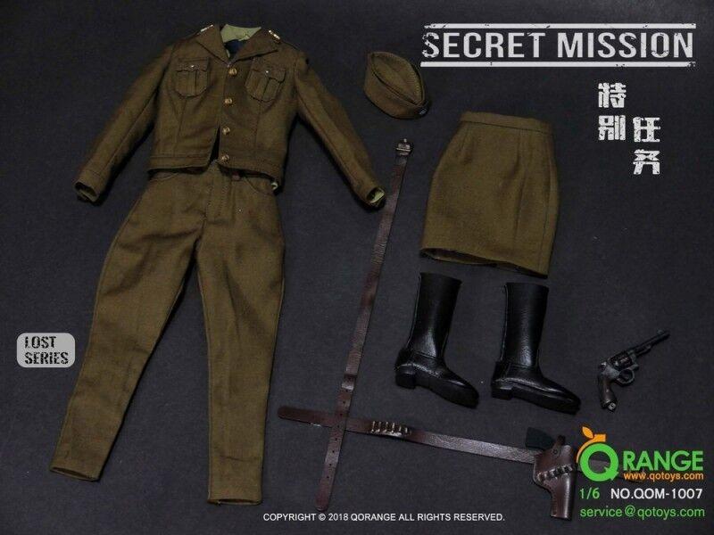 Qarancia QOTOYS 1 6 para donna conjunto de tareas especial ropa QOM-1007 F 12' 'cuerpo femenino