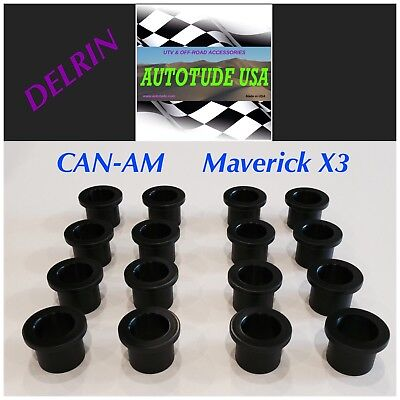 Can Am Outlander SEALED DELRIN F/&R A-Arm Suspension Bushing Kit like 703500875
